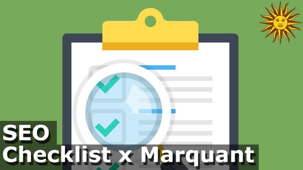 seo checklist marquant